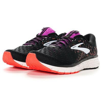 Women/'s Brooks Glycerin 17 D Wide 120283 1D 059 Black Purple Orange