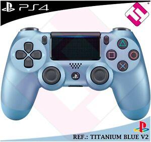MANDO-PS4-DUALSHOCK-COLOR-TITANIUM-BLUE-ORIGINAL-PLAYSTATION-4-SONY-AZUL-TITANIO