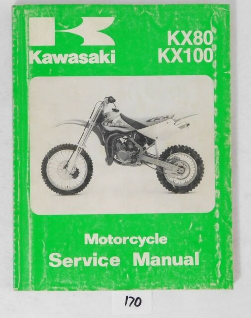 Service Manual for Kawasaki 1998 Kx80 1998 Kx100 on