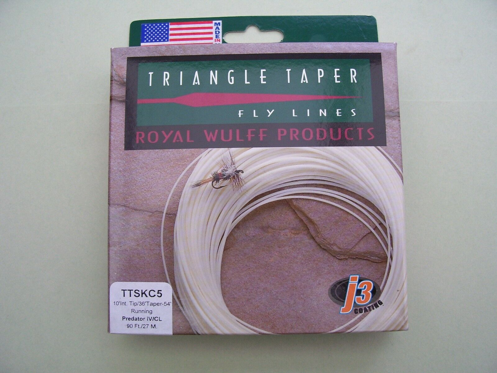 Lee Wulff Sink Tip Predator Fly Line Triangle Taper  Clear Tip 5 or 7 Weight  waiting for you