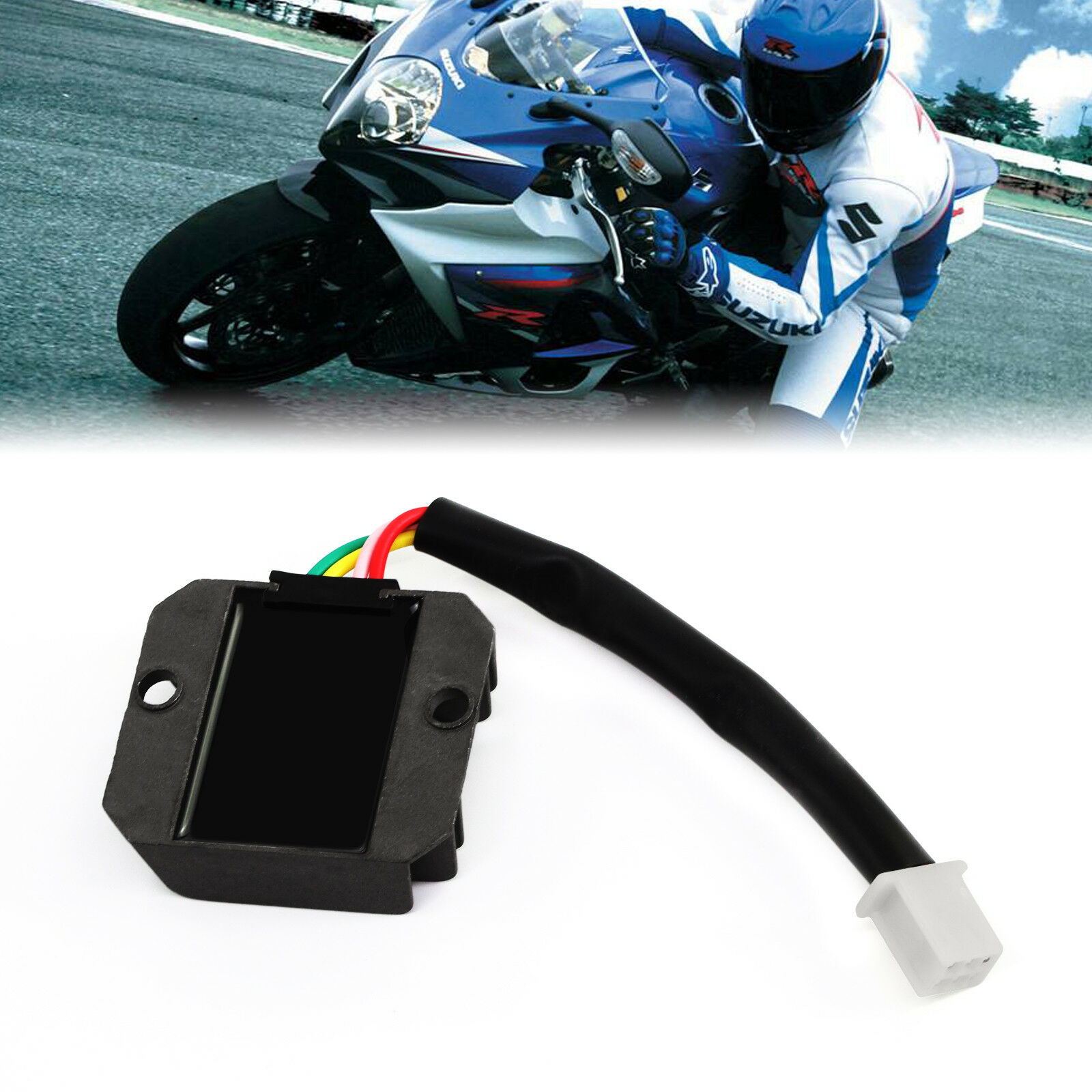 4 Wire Full Wave Motorcycle Regulator Rectifier 12v Dc Bike Quad Honda Cb400 Wiring Diagram Norton Secured Powered By Verisign