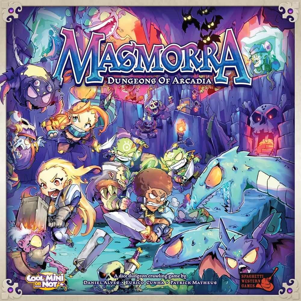 Masmorra  Dungeons of Arcadia - Board Game - Factory Sealed - Free Shipping