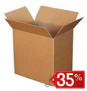 40-Stuecke-Schachteln-Karton-Doppel-Schicht-ULTRA-resistent-20x20x20cm-Versand