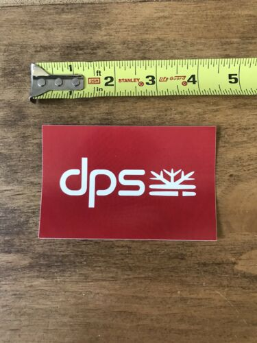 """DPS Ski Skis Skiing Logo  Snowboard Snow Outdoor Sticker//Decal Approx 4"""""""