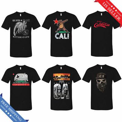 California State Cali Life USA American Novelty T Gift Ideas T-Shirt Tee