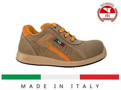 Scarpa Antinfortunistica LEWER MADE IN ITALY mod. LIPARI S1P | eBay