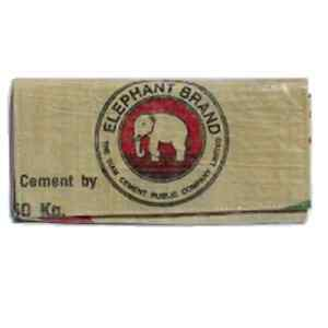 Elephant Brand Recycled Ladies Wallet made from Cement Bags in Cambodia