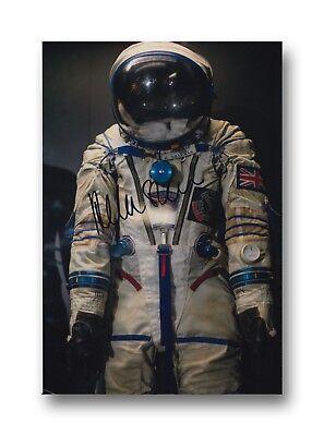 British NASA Astronaut personally signed 12x8 HELEN SHARMAN