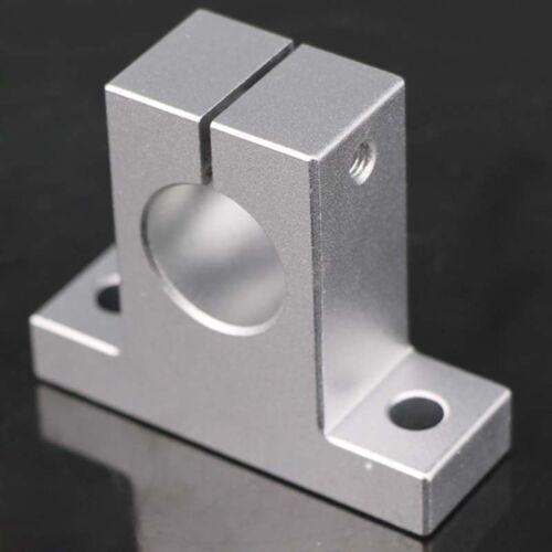 SK8//10//12//13//16//20//25 Aluminum Alloy CNC Linear Rail Shaft Guide Support Bearing