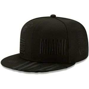 Miami-Heat-New-Era-2019-NBA-Tip-Off-Series-Tonal-9FIFTY-Snapback-Hat-Black