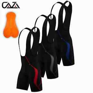 Pantaloncini-Da-Uomo-Ciclismo-Bib-NUOVO-all-039-aperto-Sport-Coolmax-Imbottito-ciclo-dei-pantaloni