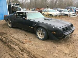 1979 Pontiac firebird trans am T-top