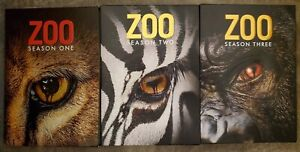 ZOO (James Patterson) TV Series Complete Season 1-3 (1 2 3) NEW DVD BUNDLE SET