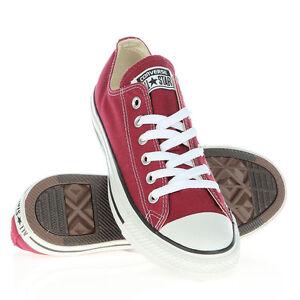 ginnastica Men Uk College Walking Ladies Shoes Converse Causali 3 Maroon Size 10 Sport da wpIqdU