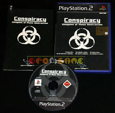 CONSPIRACY WEAPON OF MASS DESTRUCTION Ps2 Versione Ufficiale Italiana • COMPLETO