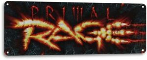 Primal-Rage-Classic-Fighting-Arcade-Marquee-Game-Room-Wall-Decor-Metal-Tin-Sign