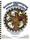 Backup Techniques 5 String Banjo BOOK/ 2 CD's Jack Hatfield Vamp Licks Bluegrass