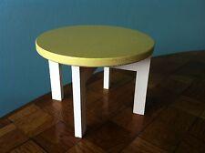 runder Tisch Bodo Hennig 70er Jahre Puppenhaus Puppenstube Möbel