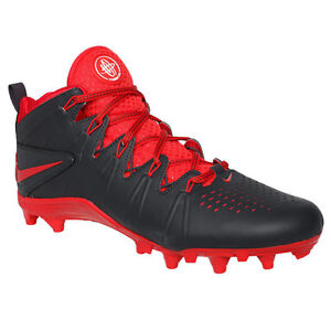 new arrival fc803 4b580 NIKE HUARACHE 4 LX LAX Lacrosse Cleats MENS 12 Anthracite Red 616296 ...