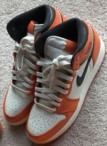 on sale 3c9ff 6cd09 Image is loading Reverse-Shattered-Backboard-CUSTOM-Jordan-1-Size-6y