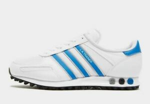 ADIDAS-ORIGINALS-LA-TRAINER-LOS-ANGELES-OG-Bianco-Blu-Scarpe