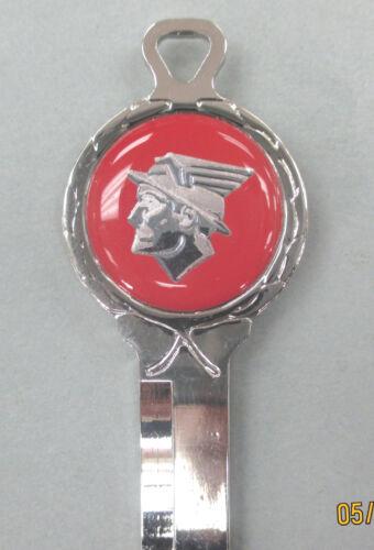 Red Mercury Messenger God Logo Deluxe Classic White Gold Key Set keys 66-84 NOS
