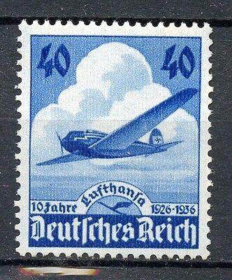 603 Tadellos Postfrisch Freigabepreis Deutschland Vor 1945 Realistisch Dr Nr Deutschland