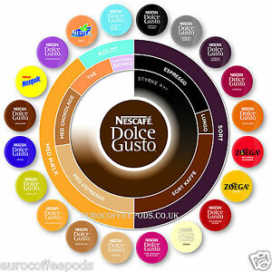 nescafe dolce gusto 10 flavour variety pack 60 capsules. Black Bedroom Furniture Sets. Home Design Ideas