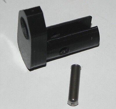 Rigid Barrel Band + SS Roll Pin Replacer for Crosman 2289 13xx w std lgth barrel