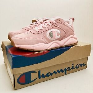 Champion 93 Eighteen Pink Youth Shoes
