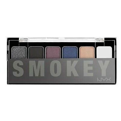 NYX The Smokey Shadow Palette (GLOBAL FREE SHIPPING)