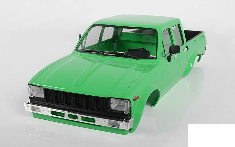 RC4WD Mojave Conjunto de cuerpo completo de puerta de cuatro II verde Z-B0207 RC4WD Hilux