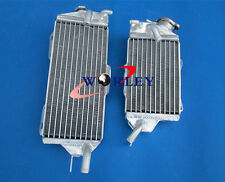 Aluminum Radiator for kawasaki kx125 KX 125 2 stroke 90 91 92 1990 1991 1992