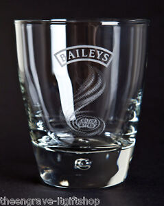 Personalised-Bailey-039-s-Whiskey-Glass-Tumbler-Gift-Boxed