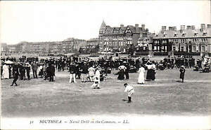 Southsea-Naval-Drill-on-the-Common-31-by-LL-Levy-Black-White