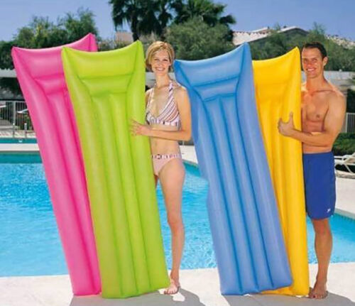 Luftmatratzen Luftmatratze NEON 183 cm Wasserliege Matratze Strandmatte Bestway