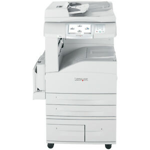 Lexmark X852e MFP Printer network scan 64 Bit