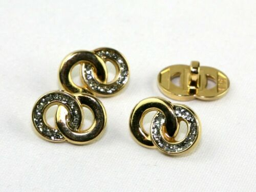 Wedding Ring Buttons Gold /& Silver