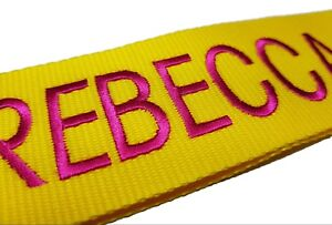 Personalised-Luggage-Strap-Suitcase-Lock-Safe-Belt-Embroidered-No-text-limit