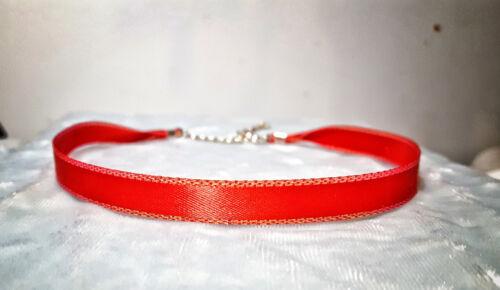 "Narrow 12-16/"" Ribbon Choker necklace Satin Velvet Sheer cosplay boho wedding"