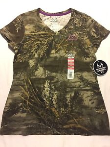 5153cd31 Realtree Max-1 XT Camo LADIES T Shirts - You Pick - Turkey Hunting ...