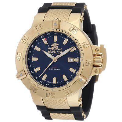 Invicta 1150 Men's Subaqua Noma III GMT Blue Dial Dive Watch