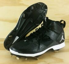286adc0ccd6207 item 5 Nike Air Jordan Derek Jeter Re2pect Baseball Cleats Black AO2914-002 Mens  Size 8 -Nike Air Jordan Derek Jeter Re2pect Baseball Cleats Black ...