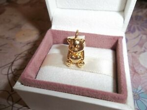 0171943313d05 Details about Genuine Authentic Pandora Shine Theodore Bear Pendant Charm  767236