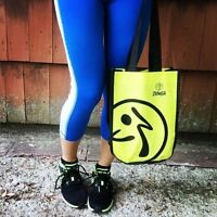 Zumba Fitness Logo Shopping Tote Shoe Bag - Love Convention Travel Gym Zin