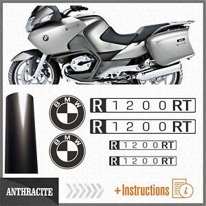 6x-BMW-R1200RT-Anthracite-2007-ADESIVI-PEGATINA-R-1200-RT-AUTOCOLLANT-AUFKLEBER