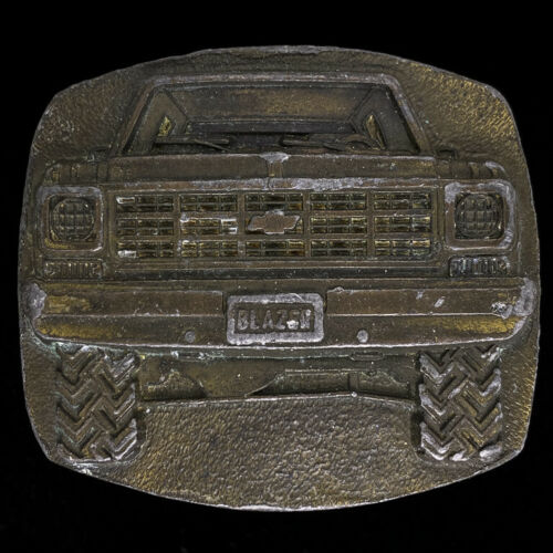 Fourth of July Gift Idea Men/'s Dated 1978 Car Gear Parts 1970s Chevrolet Truck Vintage Rare Chevy Blazer Belt Buckle SUV