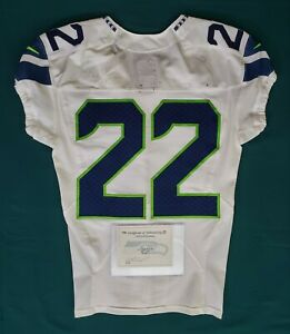 Seattle-Seahawks-Blank-22-Team-Issued-Worn-Road-Jersey-with-COA-SA-09275