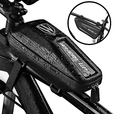 Waterproof Hard Bike Bag Frame Front Head Top Tube Cycling Bag Case Pouch NIGH