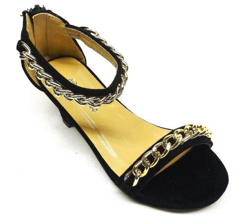 12 4 13 Girls/' Fashion Ankle Strap Dress Shoes size 11 2 1